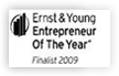 Ernst & Young Entrepreneur of the Year - Finalist 2009